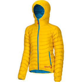 Ocun Tsunami Jacket Damen yellow/blue